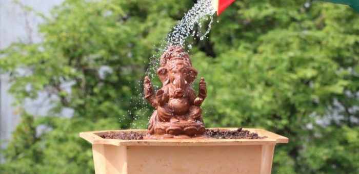 The Eco-Friendly Ganesh Idols Which Grows Into A Tree